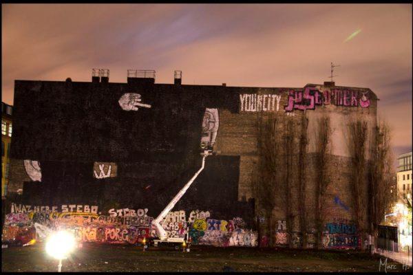 Verlust von Blu's ikonischem Graffiti Mittelfinger