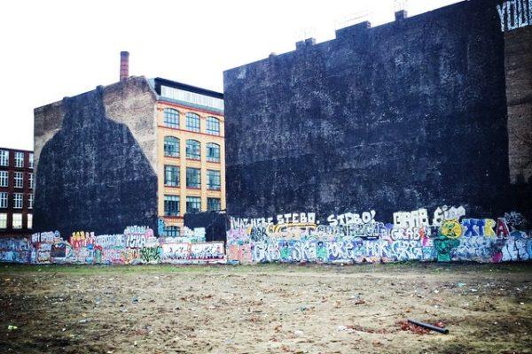Verlust von Blu's ikonischem Graffiti black