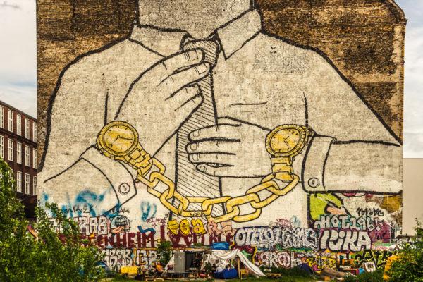 Verlust von Blu's ikonischem Graffiti cuffs