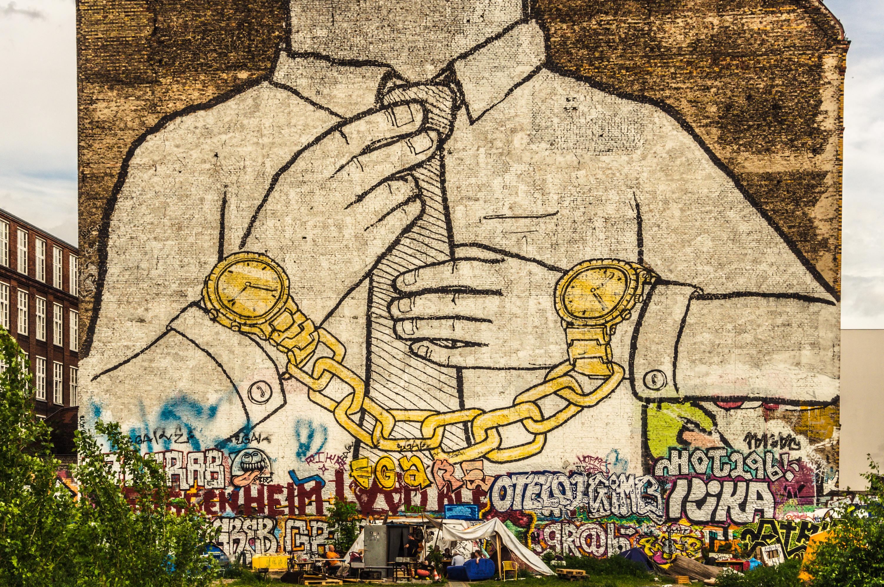 Verlust von Blu's ikonischem Graffiti