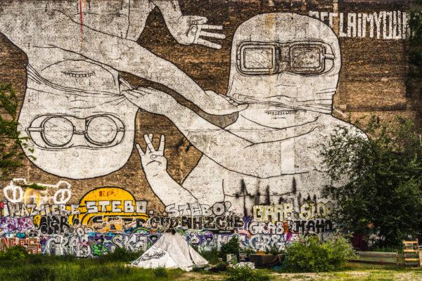 Verlust von Blu's ikonischem Graffiti West and East