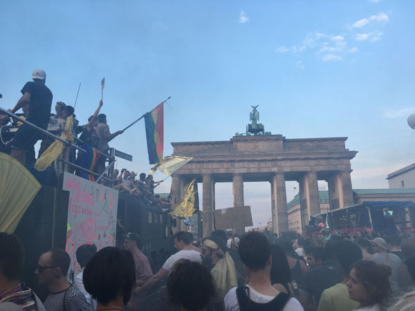 Berliner Clubkultur politisiert sich