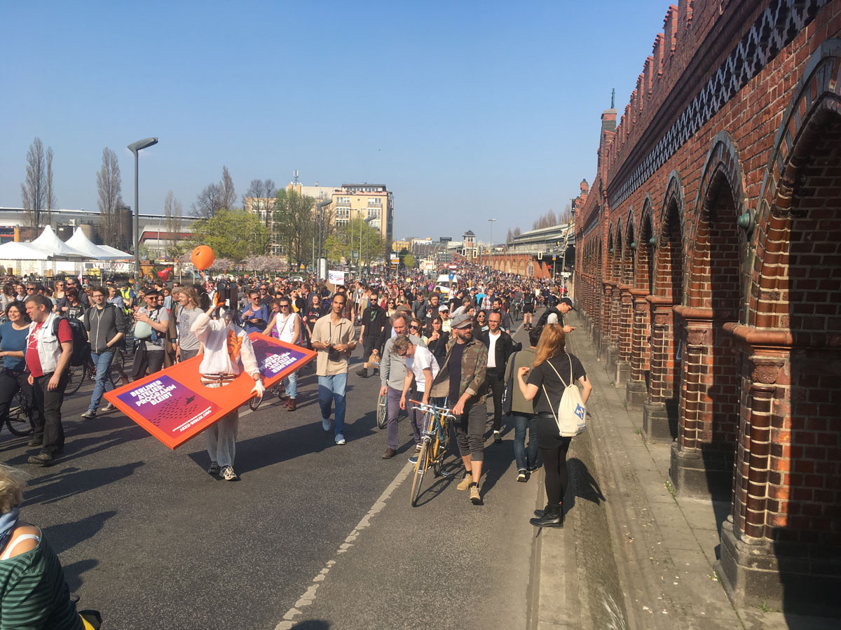 Berlin Protest & Gentrifizierung